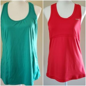 2 WORKOUT TANK TOPS SIZE LARGE